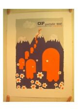 Of Montreal Poster Signed And Numbered By Artist Grand Buffet Mgmt Silkscreen
