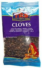 Cloves - Whole Spice - 100g - (2 x 50g Bags) - TRS Brand
