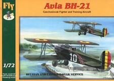 AVIA BH-21 FIGHTER (BELGIAN AND CZECHOSLOVAK AF MARKINGS) #72012 1/72 FLY