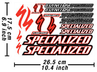 Specialized Decals Stickers Bicycle Graphics Autocollant Aufkleber Adesivi /643
