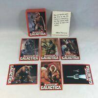 Battlestar Galactica - Wonder Bread - Complete 36 Card Set - 1978 - EX+/NM
