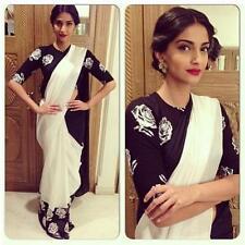 Veeraa Saree Exclusive Beautiful Designer Bollywood Indian Partywear Sari 136
