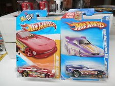 HOT WHEELS ford funny cars set of 2