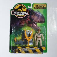 JURASSIC PARK THE LOST WORLD EDDIE CARR MASTER MECHANIC 1996 KENNER NEW & SEALED