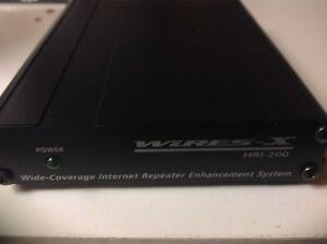 Yaesu HRI 200 -WIRES-X-WIDE COVERAGE INTERNET REPEATER ENHANCEMENT SYSTEM-3yrG'e