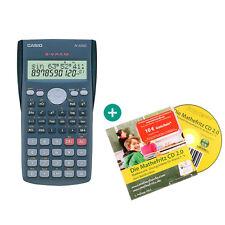 Casio FX 82 MS CALCOLATRICE + la matematica Fritz apprendimento CD