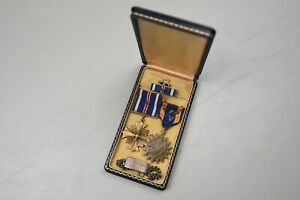 WWII U.S. DISTINGUISHED FLYING CROSS/AIR MEDAL GROUP - IDENTIFIED