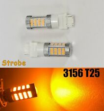 Strobe Reverse Backup Light 92 LED Bulb Amber T25 3156 3456 B1 #1 For Buick Mazd