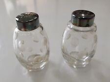 Salzstreuer aus Sterling Silber, 2 Stück