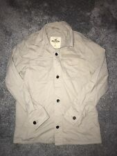 Hollister Mens Beige Coat Jacket Size Small