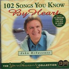 "JOHN McSWEENEY Sing-along DVD Bonus CD ""102 SONGS YOU KNOW BY HEART"" - REGION 4"