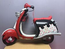 Monster High Doll Ghoulia Yelps Motorcycle Scooter