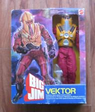 Mattel, Big Jim Enemy, Vektor, Wicked Space Master, Condor Force, Mint in Box