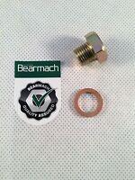 Bearmach 300TDI Engines & P38 4.0L & 4.6L V8 Oil Sump Plug & Washer - UAM2857L
