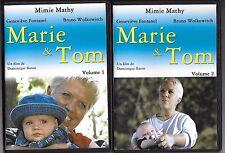 L'INTEGRALE DE MARIE & TOM EN 2 DVD AVEC MIMIE MATHY COMME NEUF