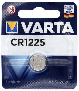 VARTA CR1225 Bouton Lithium 3V Piles - Blister - Date 2030