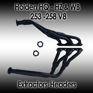 Holden HQ, HJ, HX, HZ & WB, 253-308ci (4.2L/5.0L) V8 Extractors, Headers