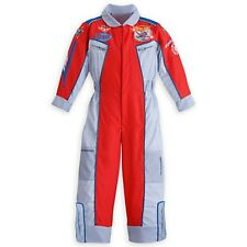 Boys PLANES FIRE & RESCUE Costume Lightup Jumpsuit Disney Store Child Small XS 4