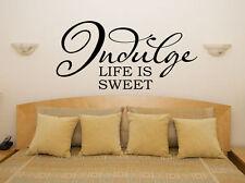 disfruta Life is CARAMELO Dormitorio Salón Comedor ADHESIVO pared imagen