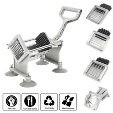 Potato French Fry Fruit Vegetable Cutter Slicer Cutting 3 Blades ROVSUN