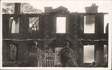 Salisbury photo. House after Fire by Whitworth, Photographer, Salisbury.
