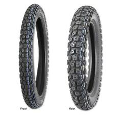 YAMAHA DT125 DT125R DT125LC 410-18  275-21 FRONT & REAR TYRE TRAIL MX ROAD LEGAL
