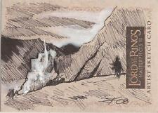"Lord of the Rings Masterpieces II - Jim Kyle ""Minas Tirith"" Sketch Card"