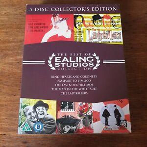 Ealing Studios Collection DVD 5 Movies VGC (Region 2 Europe)