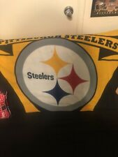 Northwest  NFL Marque Printed Fleece Throw 50 inch x 60 inch - Pittsburgh...