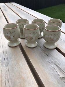 Denby Daybreak Egg Cups Set Of 6