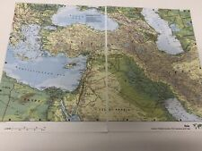2007 Map of Asia : Eastern Mediterranean The Caucasus Iraq & Southwest Asia