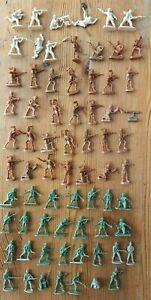 LOT 1/72 (Atlantic...) - 70 pieces - 29. 1939-45, Infanterie du Commonwealth !!!