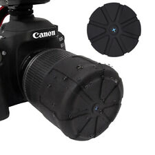 Waterproof SLR Camera Silicone Protector Universal AntiDust Fallproof Lens Cove~