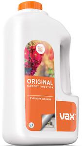 Vax Original Carpet Cleaner Solution Shampoo Rose Burst Scent Cleaning 1.5L NEW