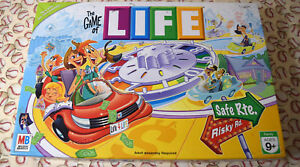 The Game Of Life Game Replacement Parts & Pieces 2007 Milton Bradley