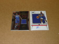 JAWUN EVANS JERSEY LOT OF 2 CLIPPERS PANINI CROWN ROYALE SELECT L239
