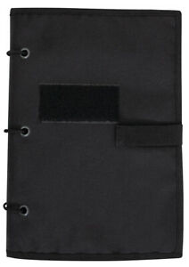 Black Travel Tactical Patch Hook and Loop Album Book Patches Holder Rothco 90211