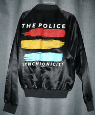 The Police Synchronicity Vintage Tour Jacket Tour 1983, (M) Medium Like New