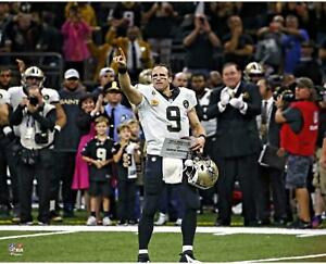 Drew Brees New Orleans Saints Unsigned Career Passing Record Game 16 x 20 Photo