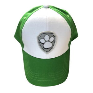 Rocky Baseball Cap Child Size Paw Patrol TV Show Hat Costume Cosplay Gift Pup