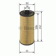Genuine OE Elemento De Filtro De Aceite Bosch F026407040