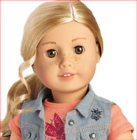 American Girl Doll Tenney Grant 18 Inch and Book