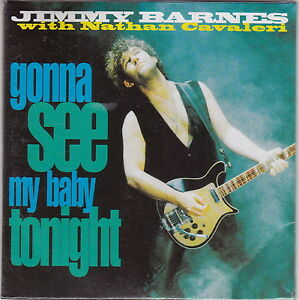Jimmy Barnes With Nathan Cavaleri - Gonna See My Baby Tonight - CD (Sealed)