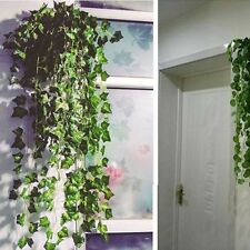 8.2feet Hanging Ivy Vine Plant Silk Artificial Leaf Garland Home Garden Wedding