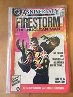 THE FURY OF FIRESTORM #50 (AUG 1986) ANNIVERSARY ISSUE! VFN DC COMICS