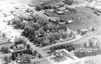 Ewen Michigan~Aerial View~The V Store~Downtown Main Street~Homes~1950s RPPC