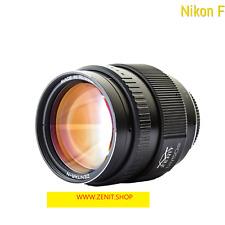 Zenit Zenitar f1, 2/50 mm lens with Nikon F Mount APS-C sensor Sony Fuji, Lumix