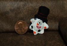 Top Hat Plush Pillow Doll - Unique Glow In Dark Dollhouse Miniature Plushie