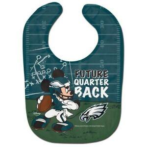 PHILADELPHIA EAGLES MICKEY MOUSE BABY BIB DISNEY NFL OFFICIALLY LICENSED