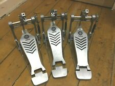 3 YAMAHA FP7210 SINGLE BASS DRUM PEDAL FOR SPARES OR REPAIRS